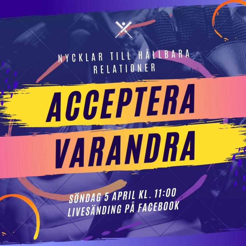 Digital gudstjänst söndag den 5e april – välkommen!